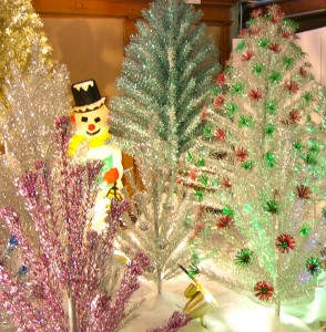 It's Christmas bling!; Retro Christmas trees return