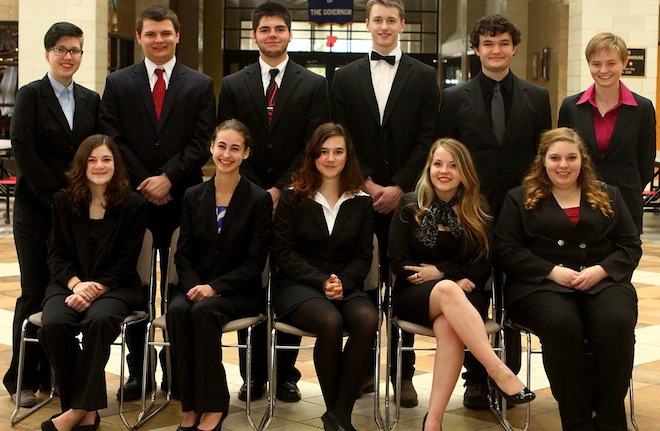 Wilmot's academic decathlon team wins regional title