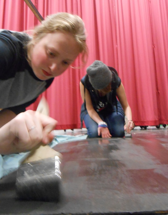 Central's growing Drama Club nurtures talent with limited resources