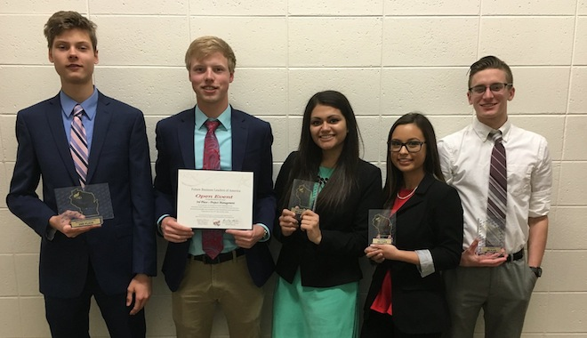 Four Westosha student business leaders qualify for nationals