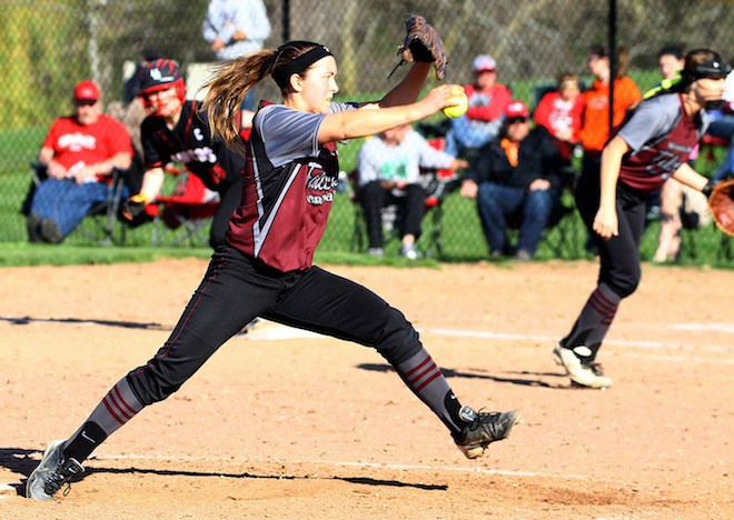 Falcon softball touts pitching