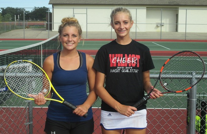 GIRLS TENNIS: Amundsons thriving in singles for Panthers