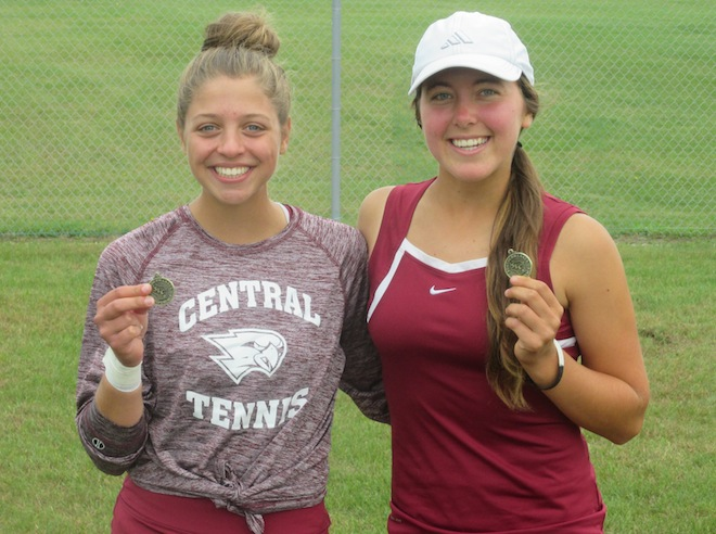 Hrncar/Salerno notch top SLC tennis honors