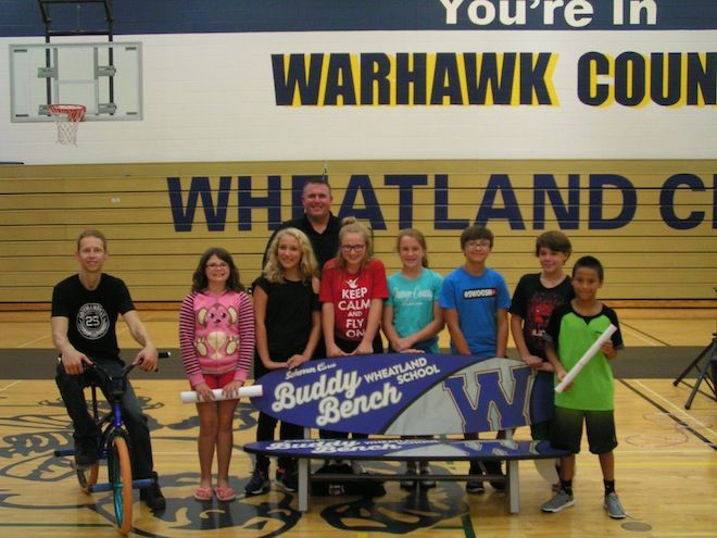 Wheatland blitzes bullying with BMX assembly