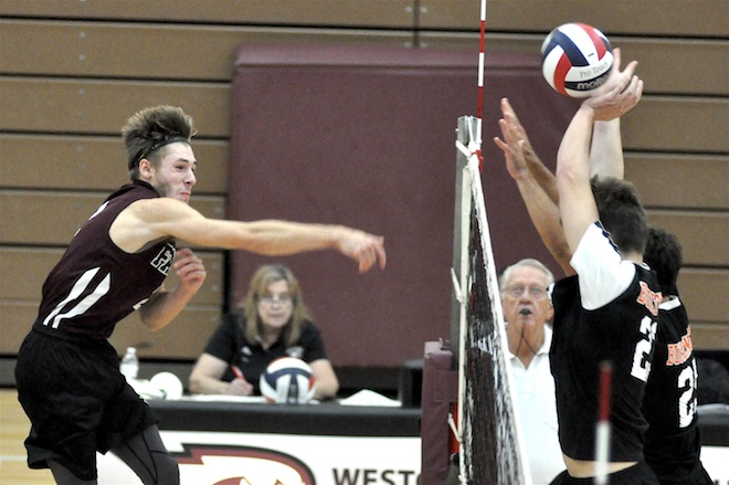 BOYS VOLLEYBALL: Falcons keep winning in SLC play