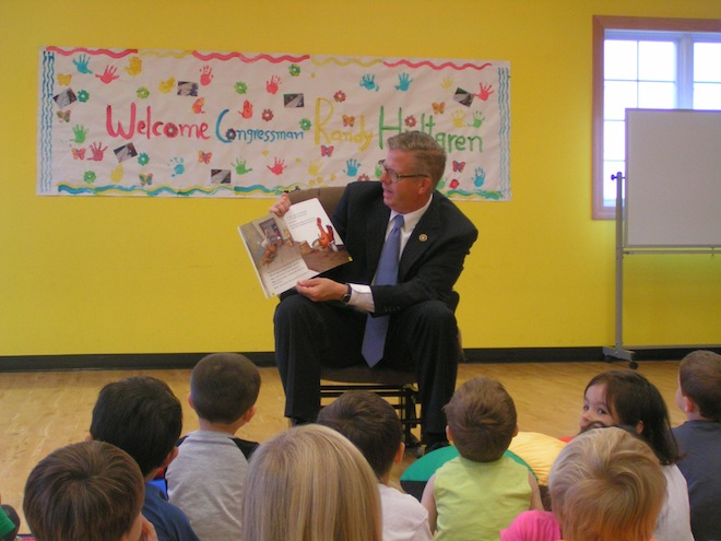 U.S. Representative visits Child Place of Antioch
