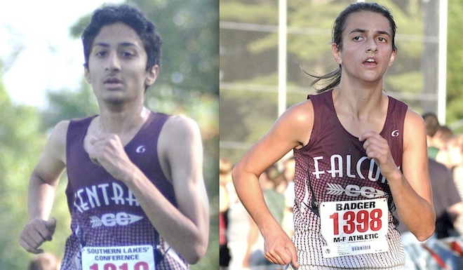 CROSS COUNTRY: Falcons' Patel, Capra move to state