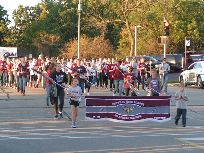 PHOTOS: Central Homecoming Parade