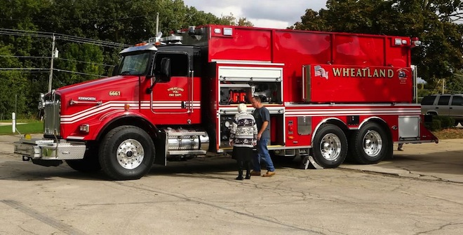 Former fire tanker sold to make way for new