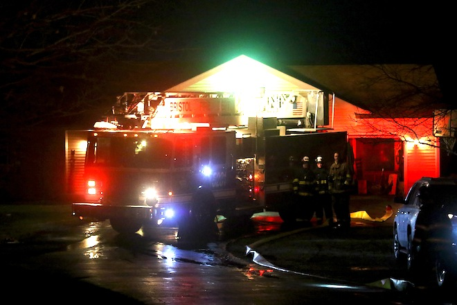 Fire started in basement of Bristol home