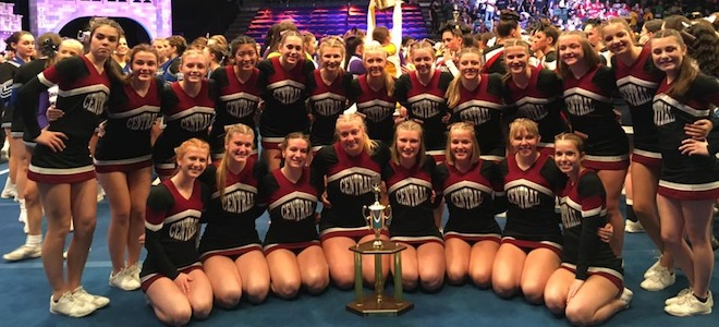 Central Cheer brings home national hardware