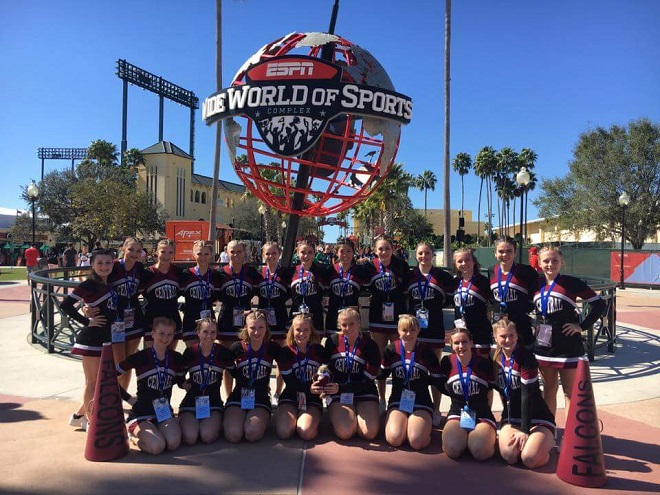 Westosha Central Cheer a national finalist