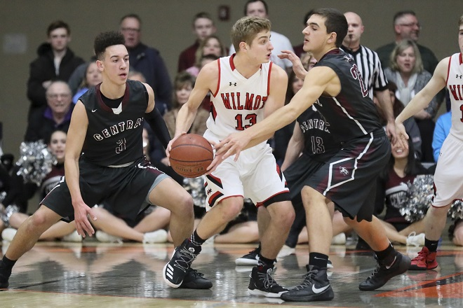 WIAA BOYS BASKETBALL: Falcons move to sectional championship in win against Wilmot