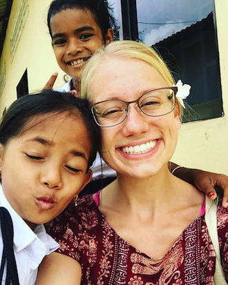 Gaul finds her calling in Cambodia
