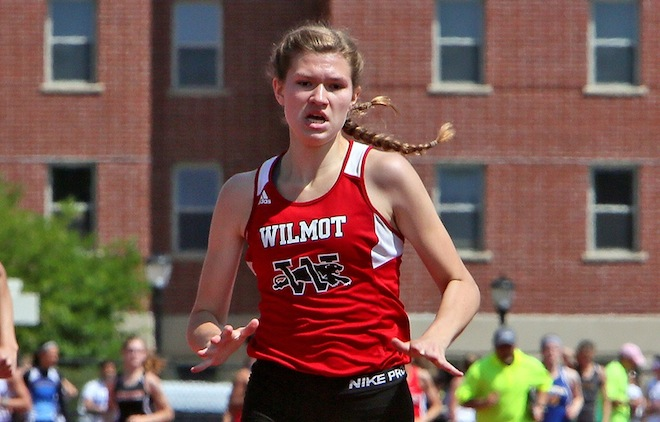 GIRLS TRACK: Panthers' Martin picks up two top finishes