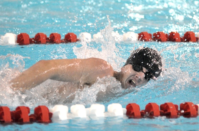 Matthews earns area swimmer of the year