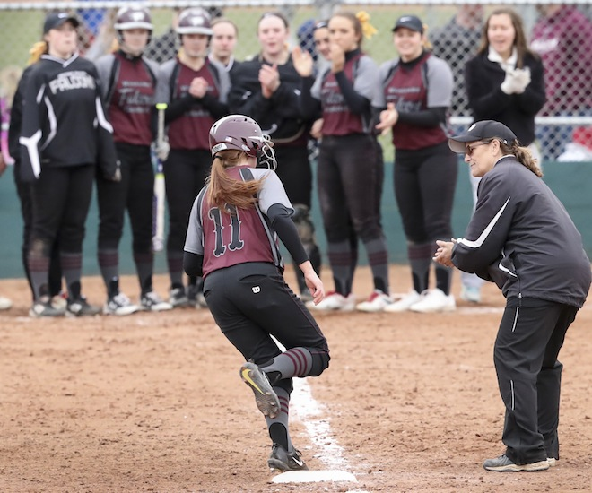 SOFTBALL: Mickelson, Weis lead Falcons past Panthers