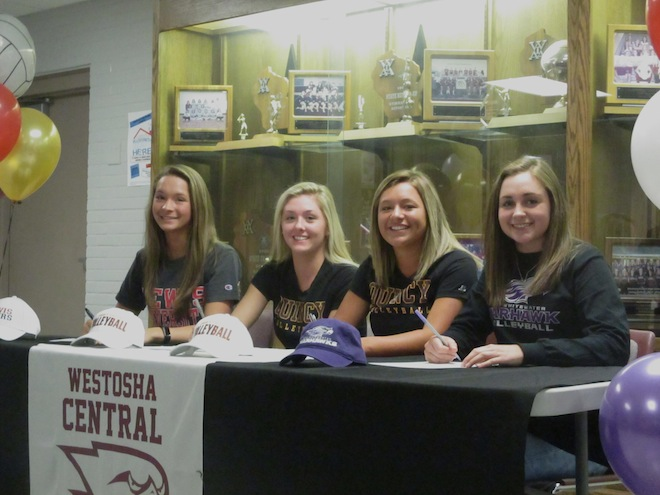 PHOTOS: Five Falcons commit to colleges
