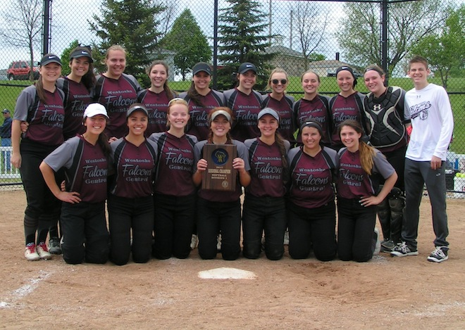 WIAA SOFTBALL: Falcons edge Burlington in regional final