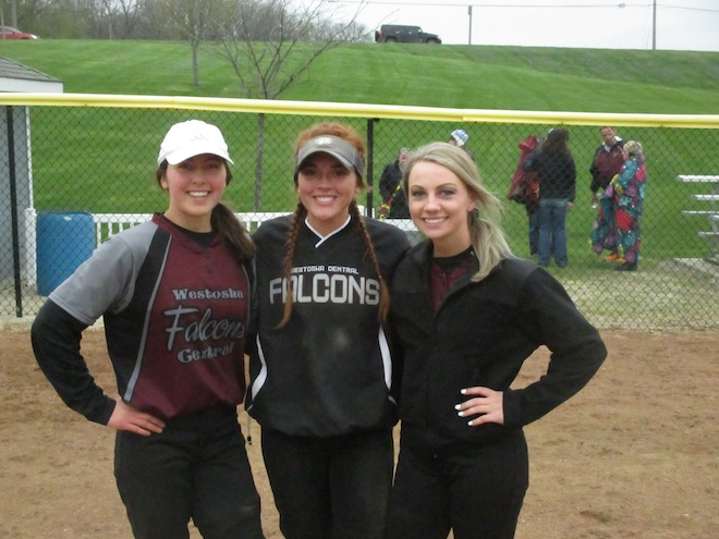 SOFTBALL: Falcons trio chosen as Senior All-Stars