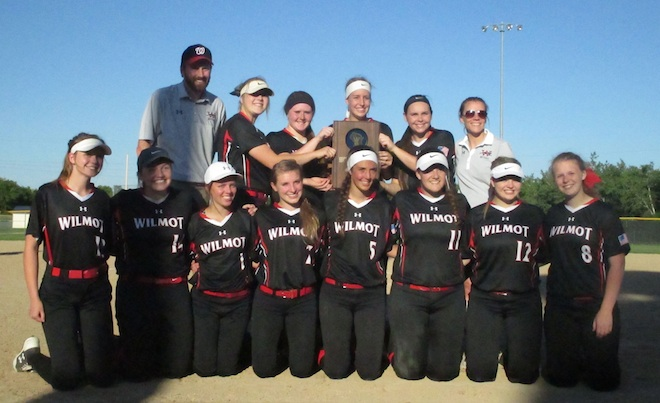 TOP SPORTS STORIES OF 2017 – No. 1: State runner-up Wilmot softball takes top spot