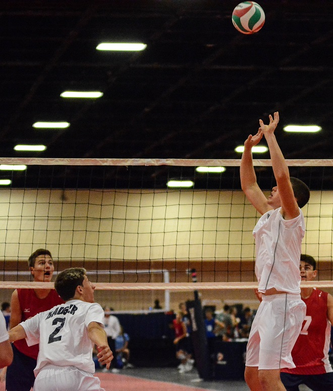 Muff among nation's elite volleyball players