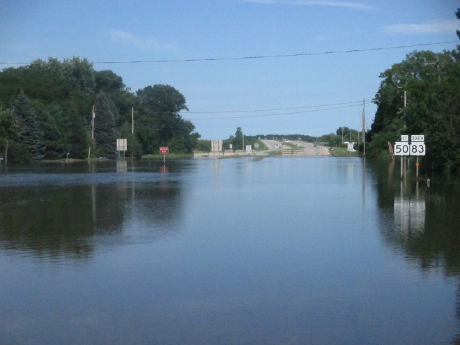 Flood Report: Monday's Road Update