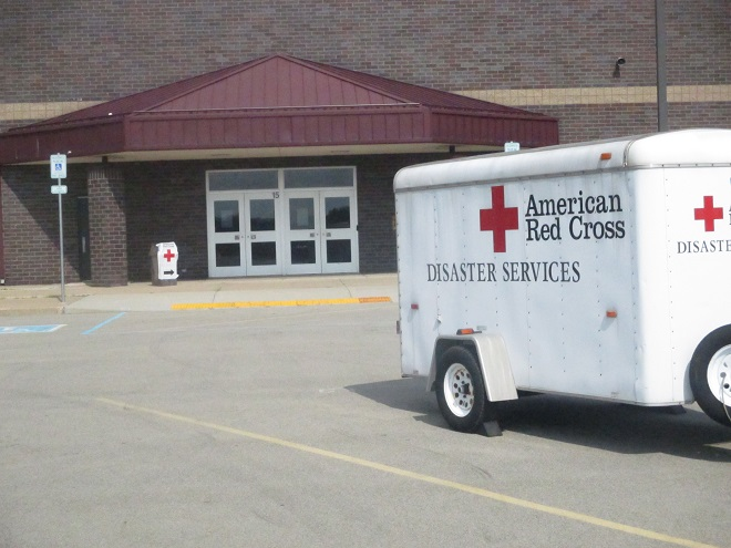 Red Cross ready to help at Salem Grade School