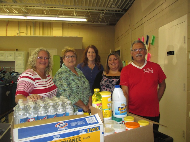 Sharing Center receives donations to aid residents