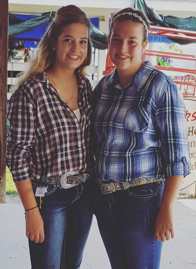 Armbruster twins inspire each other at the fair