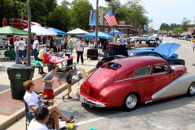 Business in the Park draws village closer