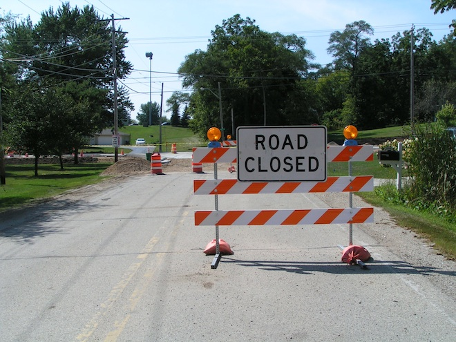 Highway 45 construction more than half complete