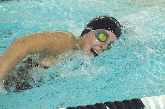 GIRLS SWIMMING: Pryor, Koeppel lead area swimmers for Badger
