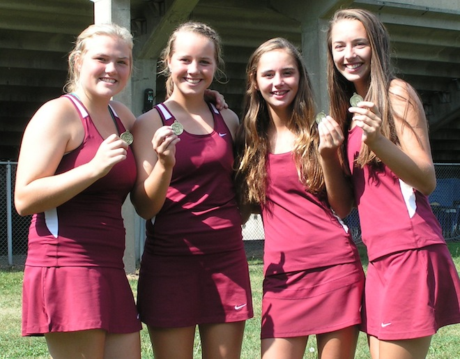 SLC TENNIS: Westosha rewrites the books; Wilmot captures two titles
