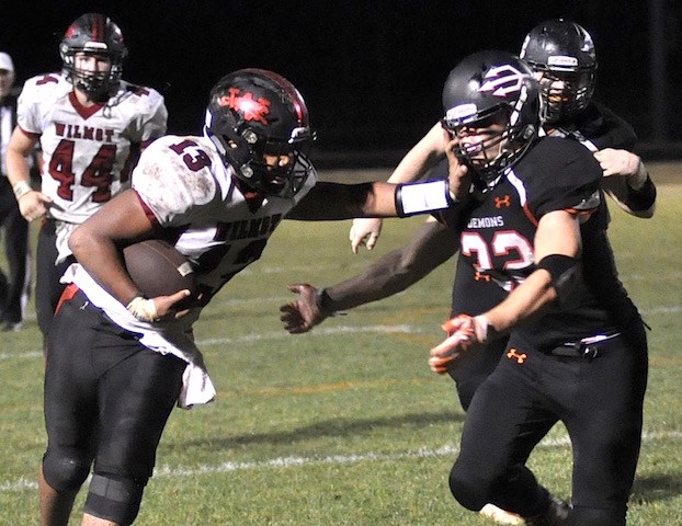 FOOTBALL: Wilmot drubs Falcons