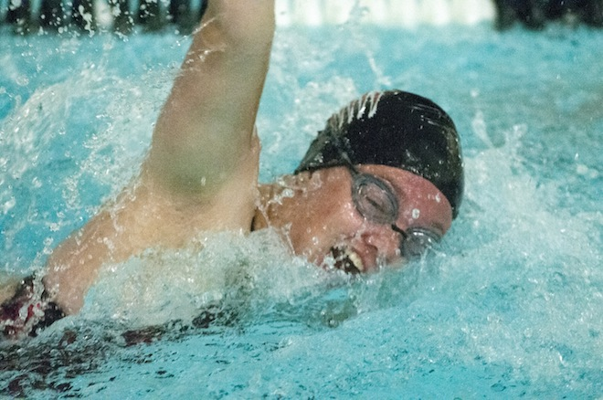 GIRLS SWIMMING: Central reps contribute to Badger co-op victory