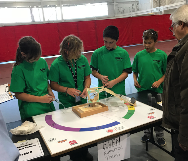 Wheatland team wins engineering competition