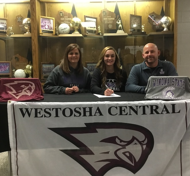 SIGNING DAY: Falcons' Kerkman signs NLI with Winona State