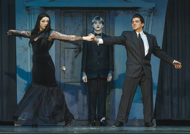 Addams Family arrives to Westosha Central