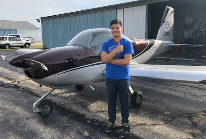 Central's Medina the latest to fly solo