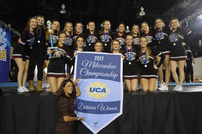 Cheer squad captures national bid