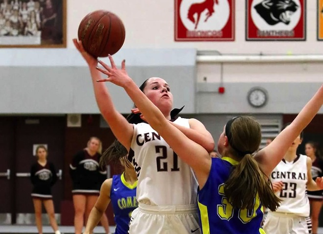 GIRLS BASKETBALL: Dopuch's career night sparks Falcons' first win