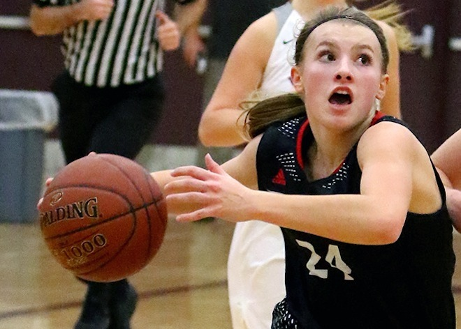 GIRLS BASKETBALL: Lady Panthers press, tempo too much for Burlington