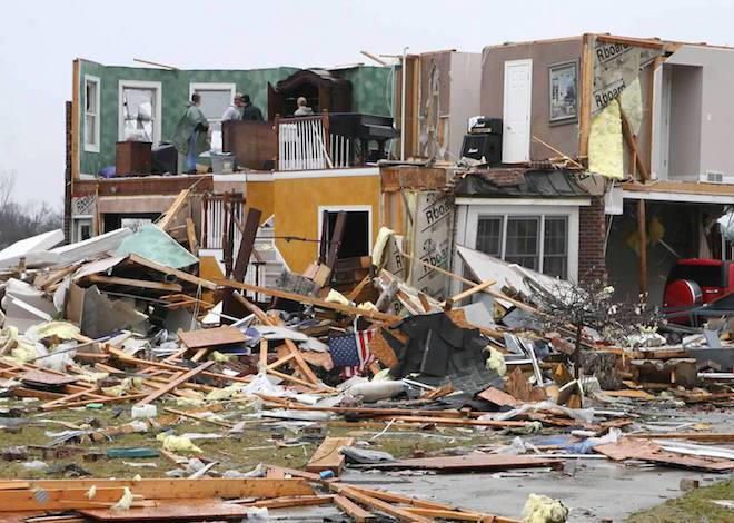 Tornado roared through Wheatland 10 years ago