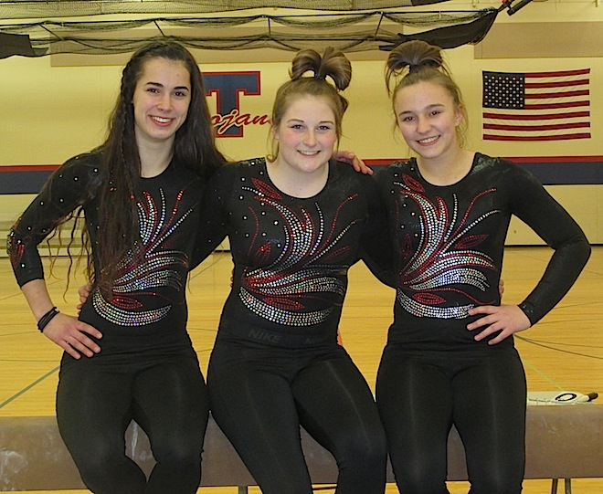 GYMNASTICS: Central trio brings power, artistry to Kenosha Combined