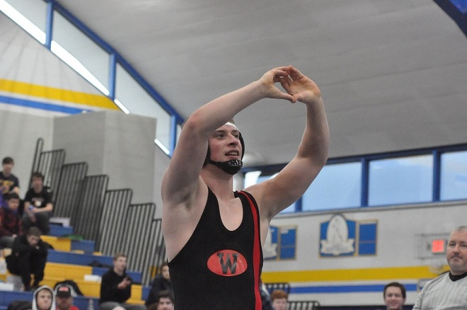 WIAA SECTIONAL WRESTLING: Panthers' Valach wins title, Westosha's McNeill to join him at state meet
