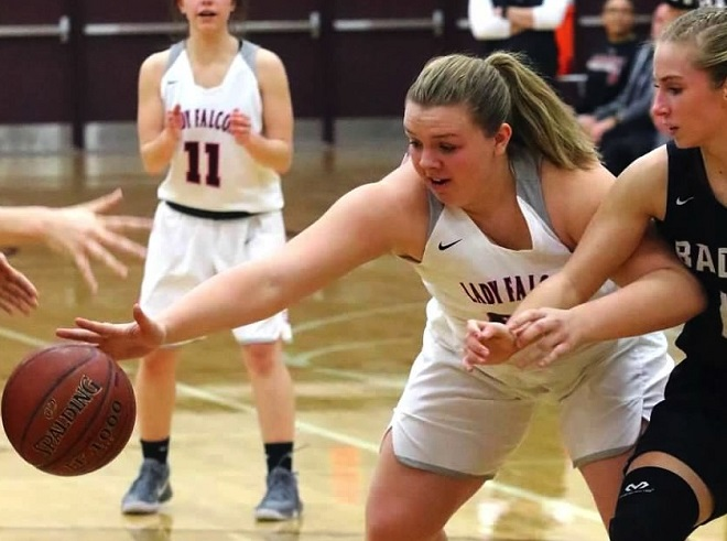 GIRLS BASKETBALL: Falcons snap conference skid
