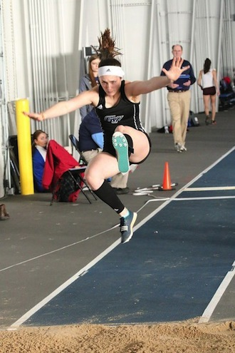 Former Falcon Reeves sets school triple jump record for Grand Valley State