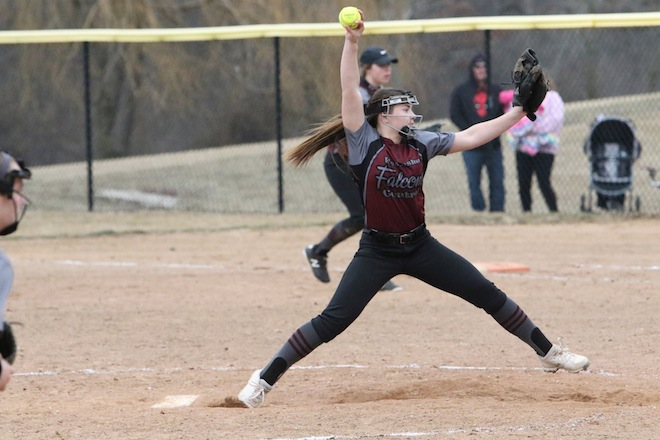 SOFTBALL: Falcons post perfect weekend