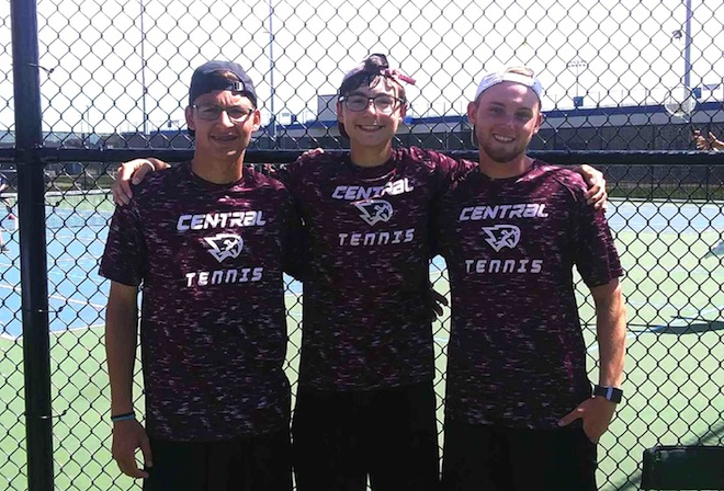 WIAA TENNIS: Falcons trio state-bound
